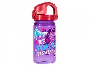 Butelka dziecięca Nalgene On The Fly 0,35 l purpurowa