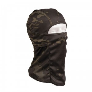 Kominiarka Tactical Balaclava MULTITARN BLACK Mil-Tec