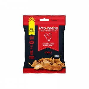 Chipsy z kurczaka Merzdorf Proteens Chicken Chips 26 g chilli