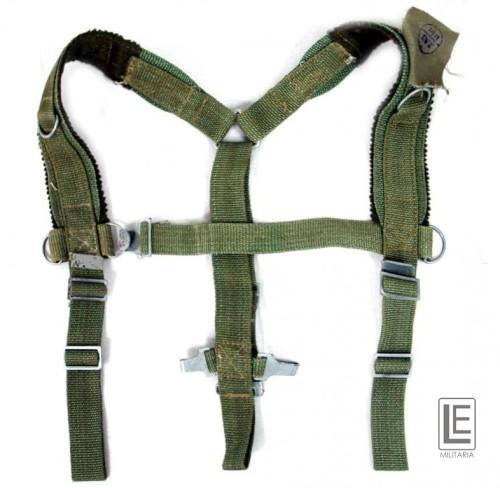 d6dbd42b69709 SZELKI taktyczne do plecak KOSTKA Lniane zielone.  Szelki taktyczne dusicielki LWP