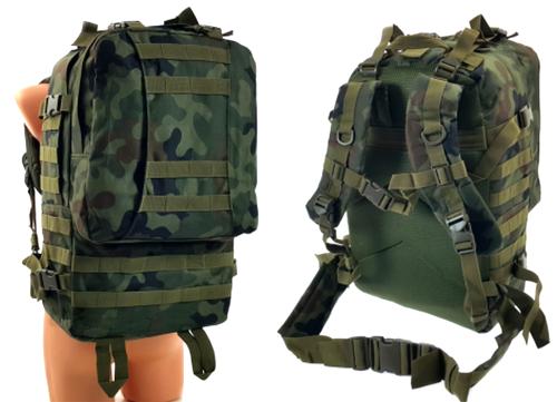 330978052b09b Taktyczny PLECAK wojskowy Duży 35L wz.93 kamuflaż leśny Militaria ...