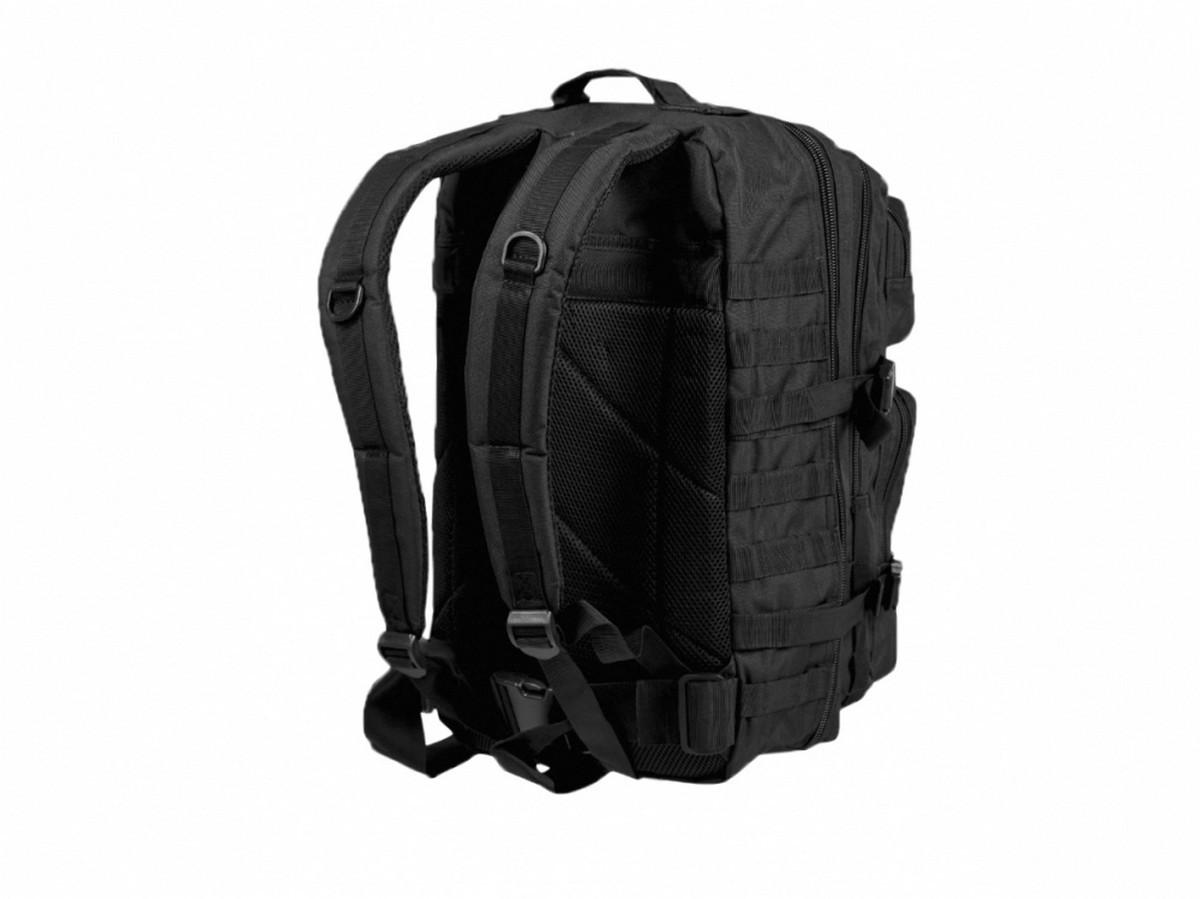 1d80a91bf6e27 Plecak Mil-Tec Assault duzy 51 x 29 x  28cm czarny wojskowy taktyczny molle lentus militaria