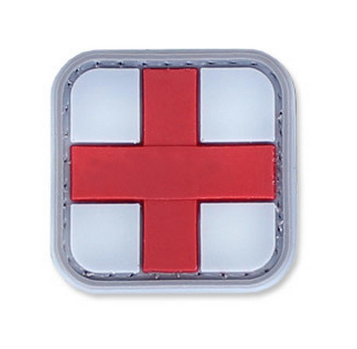 4TAC-Naszywka-3D-Medic-Cross-Bialo-czerwony-krzyz-medyka-medyk