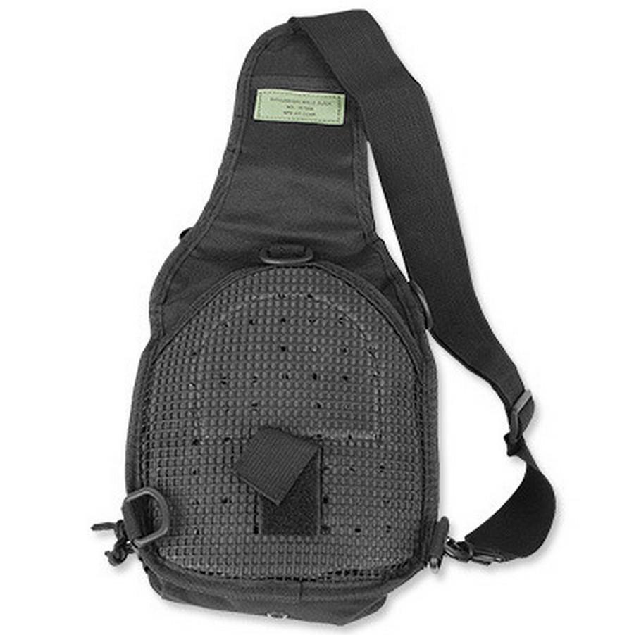 3f473852e52cc Torba plecak SLING BAG M10 czarny wojskowa taktyczny Militaria ...
