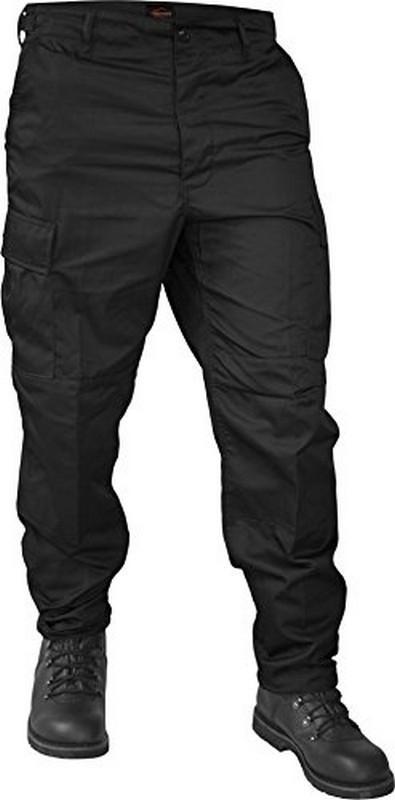 Spodnie bojówki taktyczne US Ranger BDU Schwarz czarne M